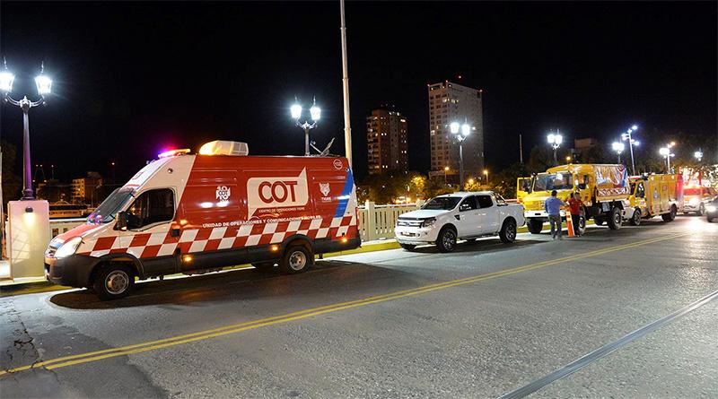 Por la sudestada, Tigre desplegó un operativo preventivo en el centro de la ciudad