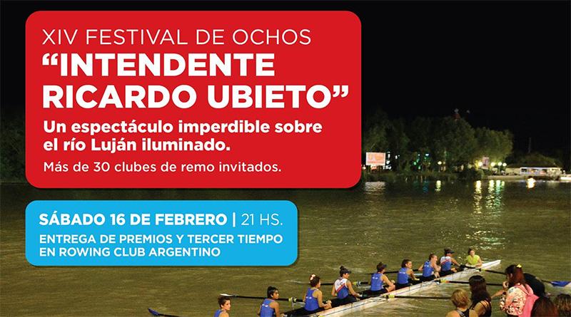Tigre será escenario de una nueva edición del Festival de Ochos