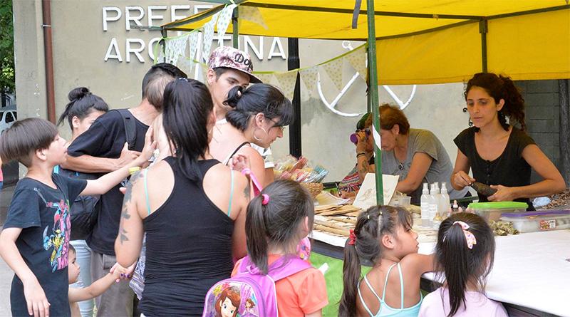 Comenzó en Tigre el Mercado de Productores de la Economía Popular