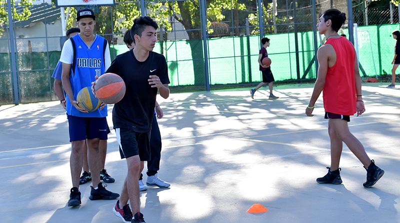 Cada vez más chicos eligen el básquet en San Fernando