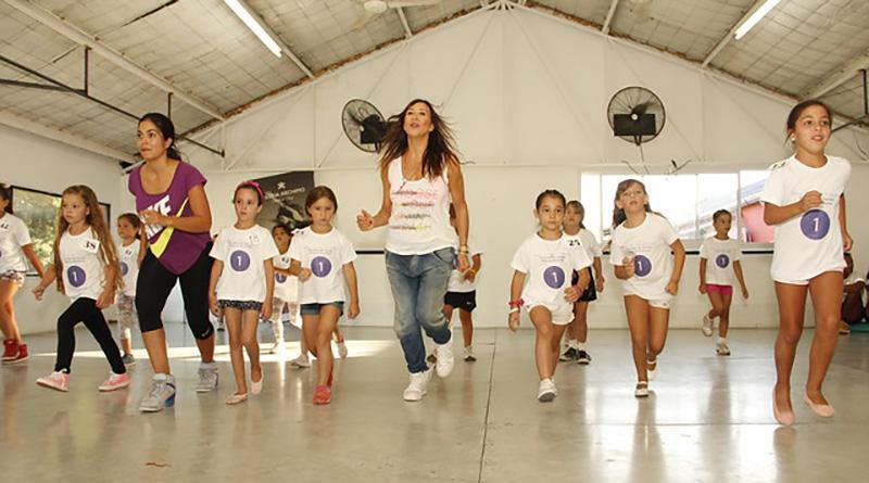 Becan a chicos para la Escuela de Danza de Valeria Archimó en San Isidro