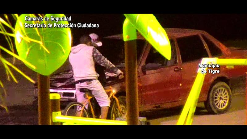 El COT lo atrapó infraganti cuando vendía celulares robados en la vía pública