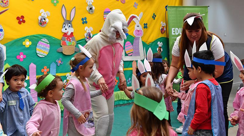 Centros Educativos y Jardines Maternales Municipales de San Fernando celebraron la Pascua