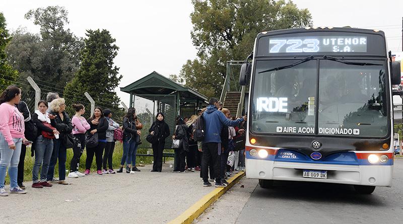 Los usuarios de la línea 723, conformes con el nuevo recorrido dentro de Nordelta