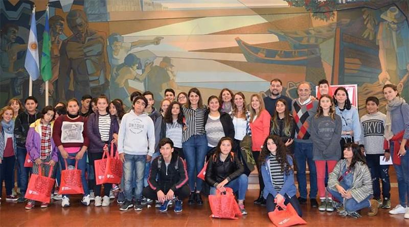 El HCD de Tigre recibió alumnos de diferentes localidades del distrito