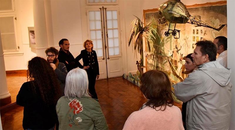 """Vecinos y visitantes disfrutaron en Tigre de una visita guiada por la muestra """"Amazonía del Plata"""""""