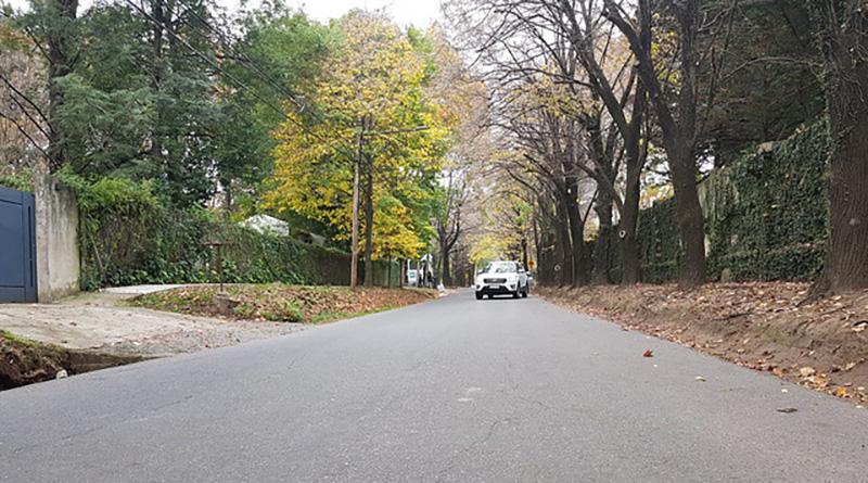 El Municipio renueva asfaltos en Beccar