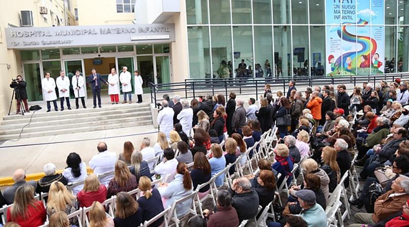 San Isidro inauguró el nuevo Hospital Municipal Materno Infantil