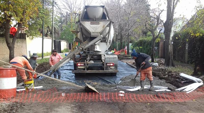 Blanco Encala tendrá 9.000 metros cuadrados de pavimento nuevo