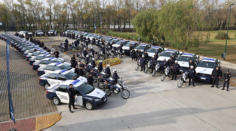 San Isidro sumó 47 nuevos vehículos al patrullaje municipal