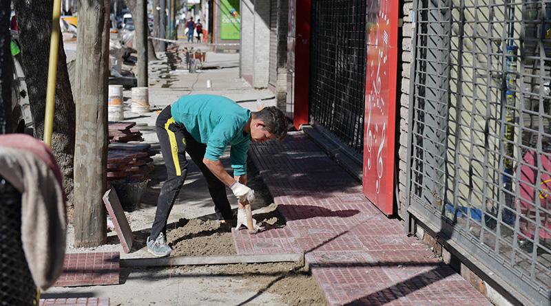 Avanza el Plan de Renovación de Veredas en San Fernando
