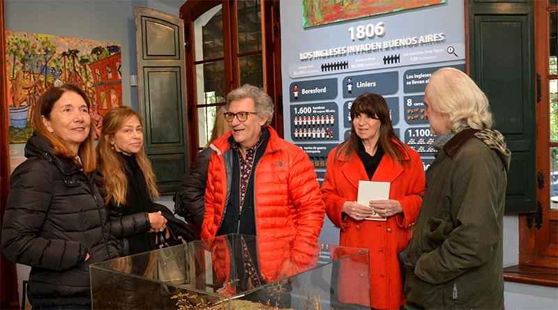 En el Museo de la Reconquista,DuilioPierribrindará una recorrida especial por una de sus muestras