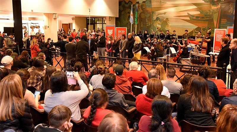 En el HCD, Tigre vivió su primer Encuentro Internacional de Orquestas