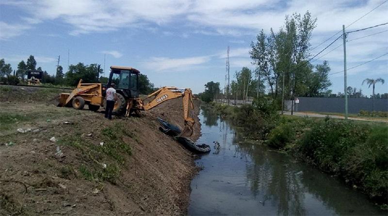 Tigre suma trabajos de limpieza y mantenimiento hidráulico en General Pacheco