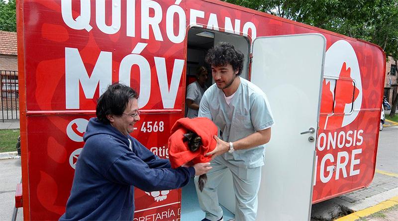 Zoonosis Tigre: la segunda semana de octubre, el móvil recorrerá más localidades del distrito