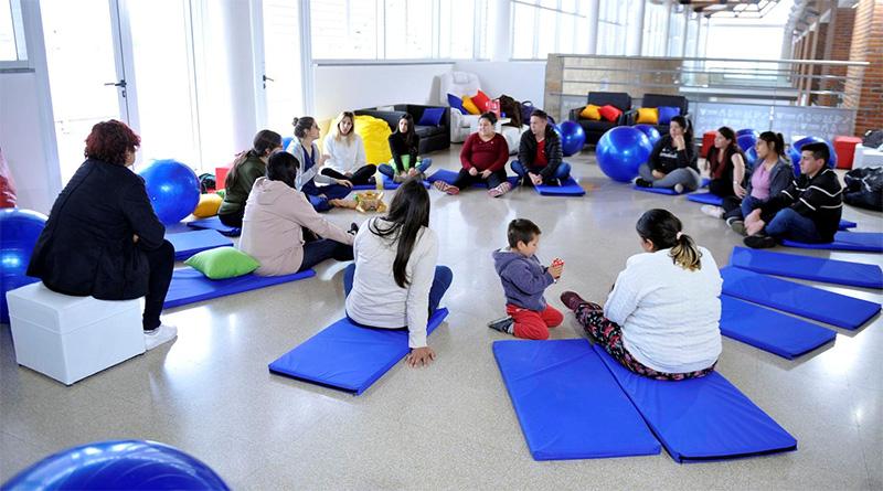 En el Hospital Materno Infantil de Tigre funciona un Salón de Usos Múltiples