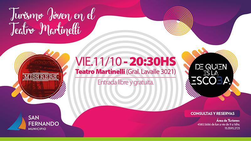 Turismo Joven en el Teatro Martinelli