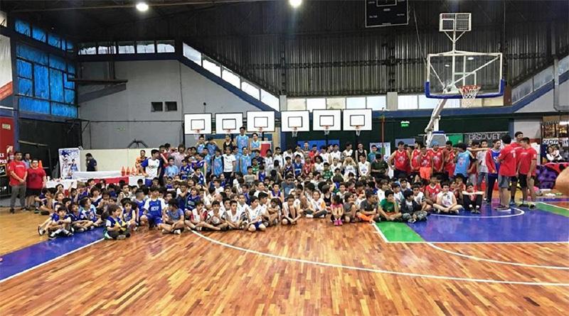 Tigre fortaleció con material deportivo a su Escuela Municipal de Básquet