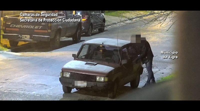 Robó pertenencias de un auto y se fue a su casa: fue detenido por el COT a los pocos minutos