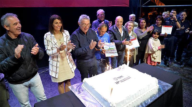 "Con la presencia de la Orquesta ""Ricardo Carpani"", Ricardo Rojas celebró su 61° aniversario"