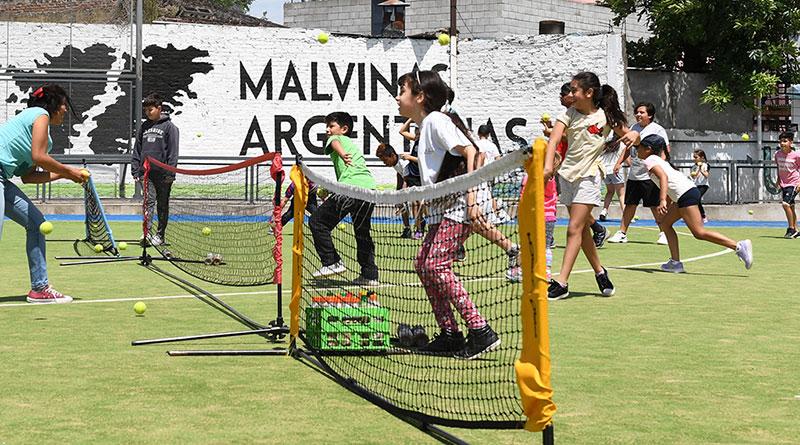 Gran Torneo Familiar de Tenis Interpolis en San Fernando
