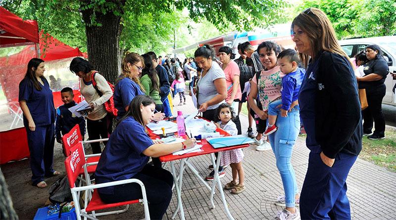 """""""Tigre con vos"""": la comunidad de Don Torcuato recibió asesoramiento y servicios del municipio"""