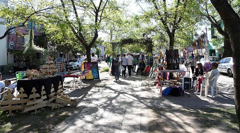 En el Boulevard Sáenz Peña, Tigre acompañó la celebración del Día del Isleño