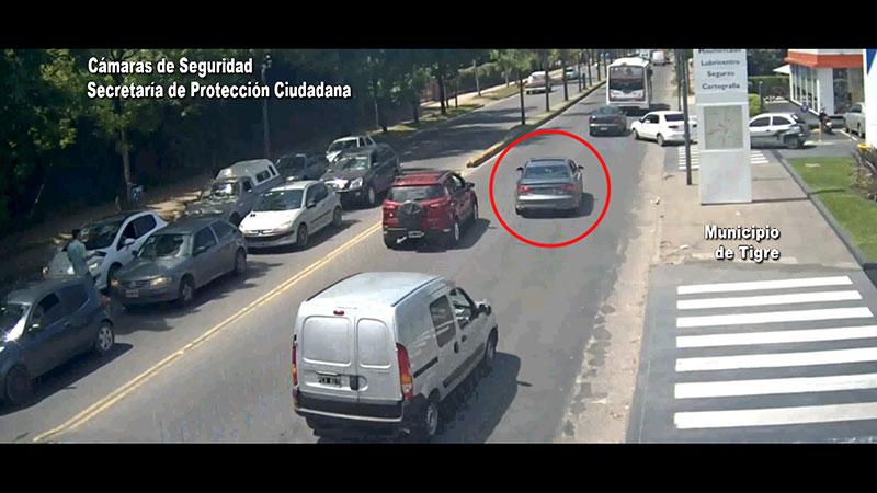 Persecución y vuelco: así atraparon a la banda que robó en el barrio Altamira