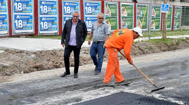 Nuevos pavimentos para una mejor circulación en Nuevo Delta