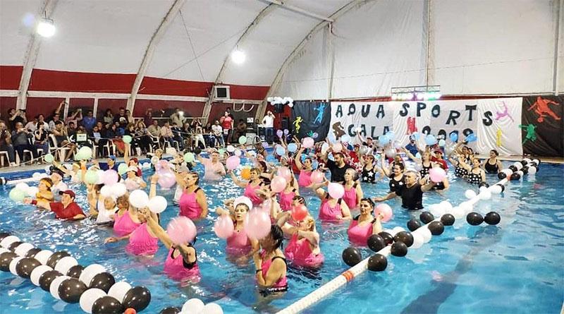 Aquagym: Más polideportivos de Tigre se suman a las galas temáticas
