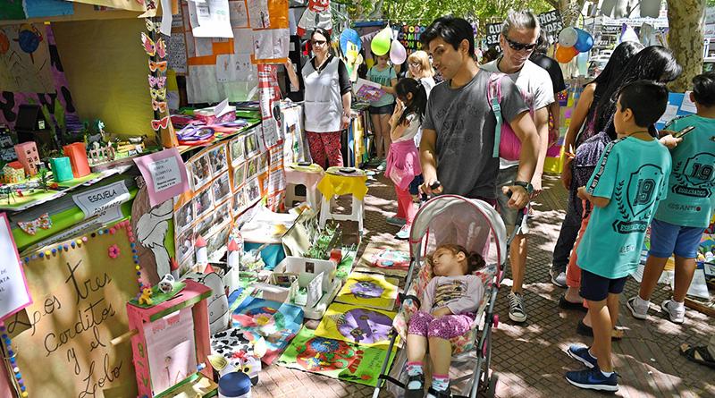 San Fernando acompañó la muestra de Escuelas Primarias Provinciales en Plaza Mitre