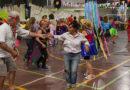 Gran baile de Tercera Edad en el Polideportivo N° 1 de San Fernando