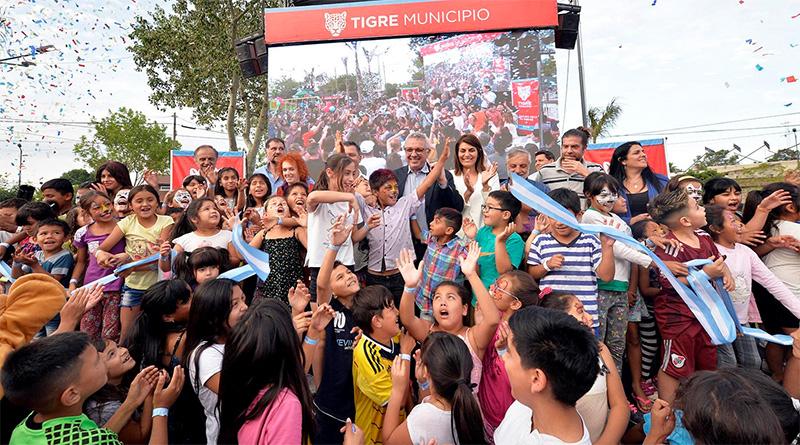 """Zamora: """"Vamos a trabajar codo a codo con el Presidente Fernández para que los vecinos de Tigre tengan cloacas y agua corriente"""""""