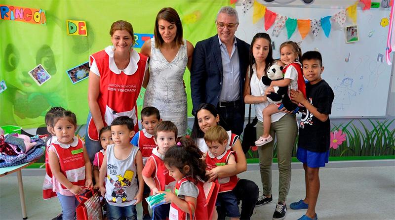 Maestras y alumnos del Jardín Municipal de Don Torcuato cerraron el año con un gran festejo