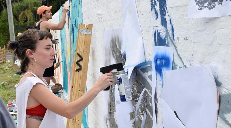 """""""Pintó Tigre 3"""" llevó arte, color y creatividad a los barrios de Rincón de Milberg"""