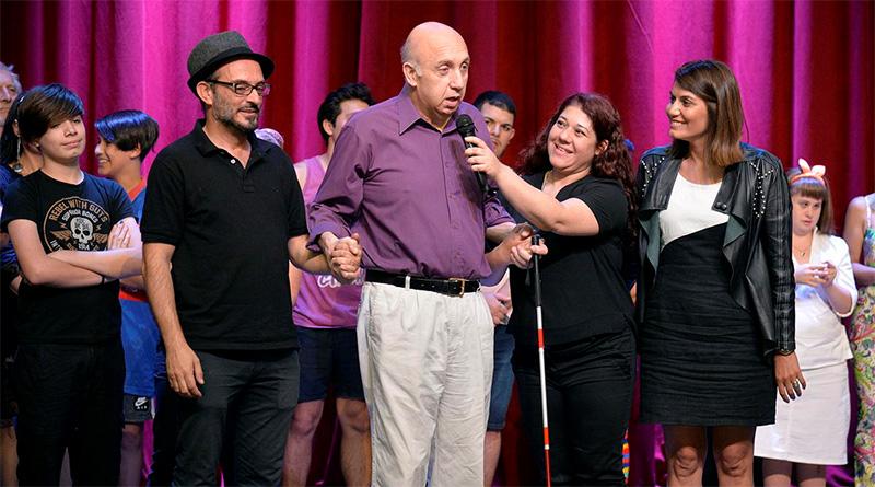 """El programaArteInclusivode Tigre cerró el año con una muestra en el teatro """"Pepe Soriano"""""""