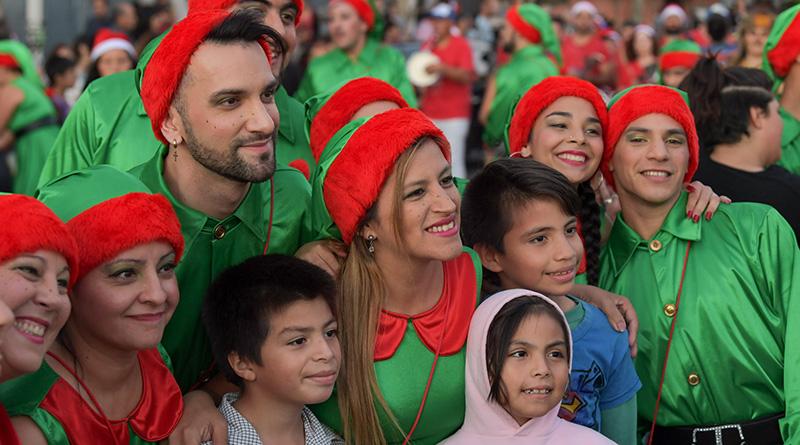 Miles de vecinos de Virreyes disfrutaron los Desfiles de Navidad