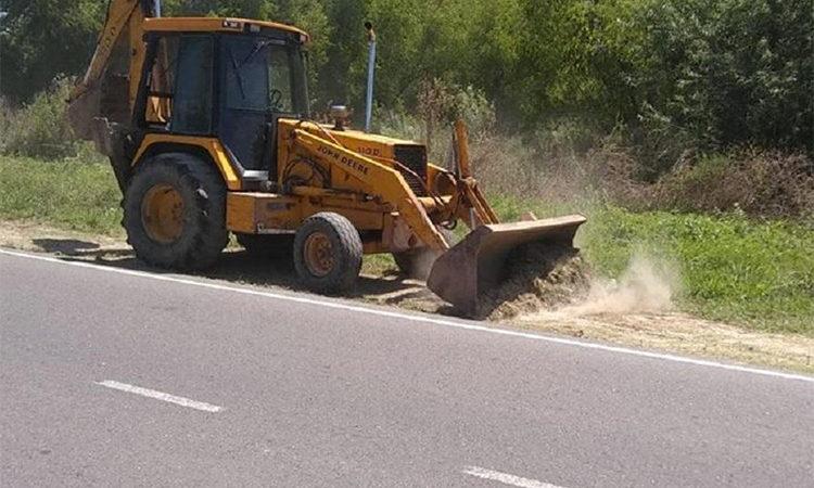El Municipio construye nuevas veredas en Nuevo Delta