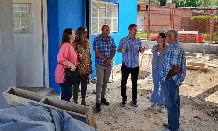 Inversión educativa en Benavídez: avanza la construcción de la Escuela Secundaria N°36