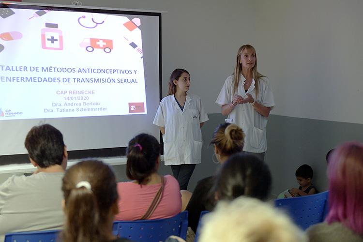 San Fernando brinda Talleres de Métodos Anticonceptivos en los Centros de Salud