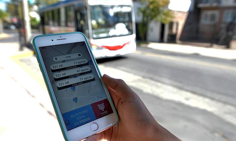 Colectivos Tigre, la aplicación que optimizó el tiempo y la seguridad de los vecinos