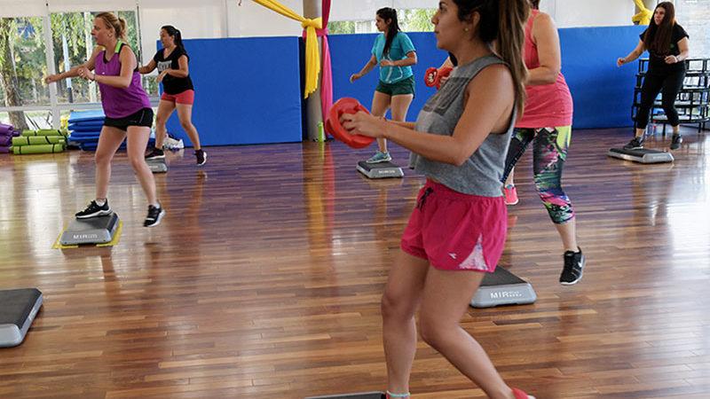 El Polideportivo Nº 10 de San Fernando ofrece actividades fitness para todos los vecinos