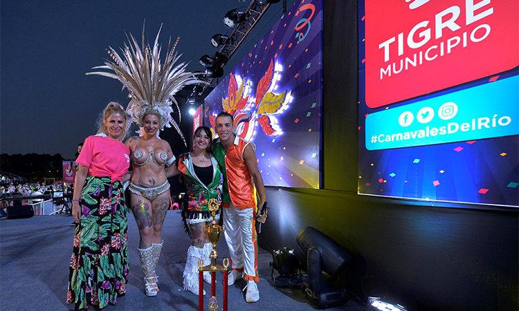 """Música, alegría y color en el comienzo de los """"Carnavales del Río 2020"""" en Tigre"""