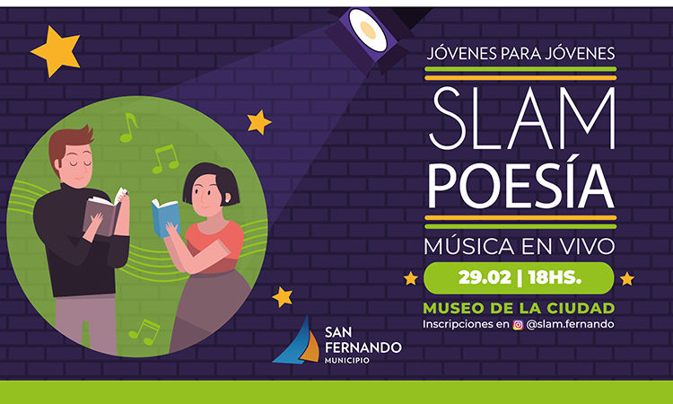 """Se hará la primera competencia """"Slam"""" de Poesía en San Fernando"""