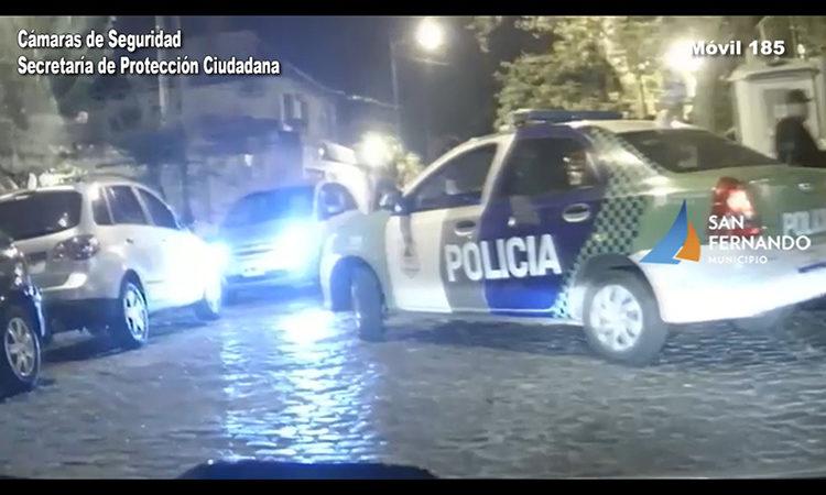 Gracias a las Cámaras de Seguridad de San Fernando detienen a sujeto que le robó a otro en el Banco Provincia