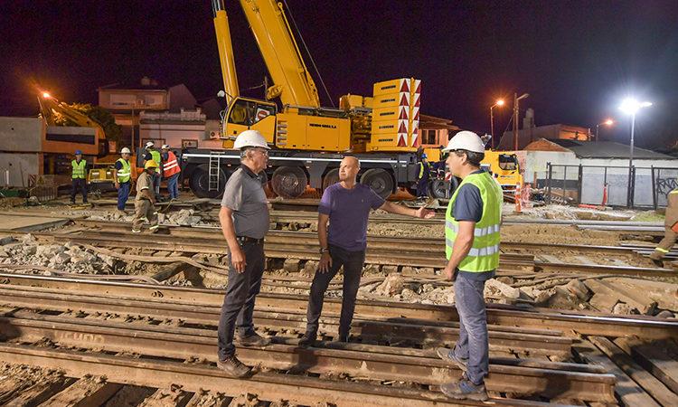 Tras un paso importante, el Túnel de Martín Rodríguez ya tiene sus nuevos puentes de hormigón