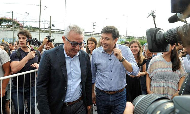 Zamora y Arroyo, presentes en la entrega de tarjetas AlimentAR en Tigre
