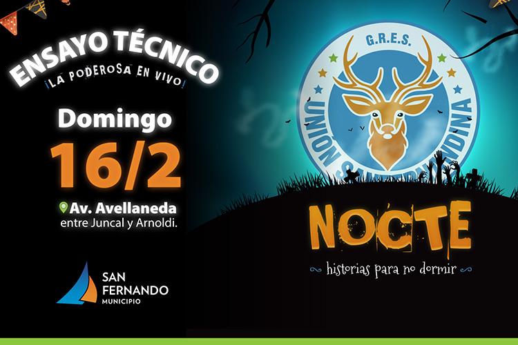 Este domingo, nuevo ensayo técnico abierto de Unión Sanfernandina previo al Gran Corso Familiar