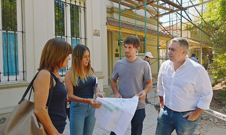 Juan Andreotti presenció la renovación del histórico Jardín Provincial N°901