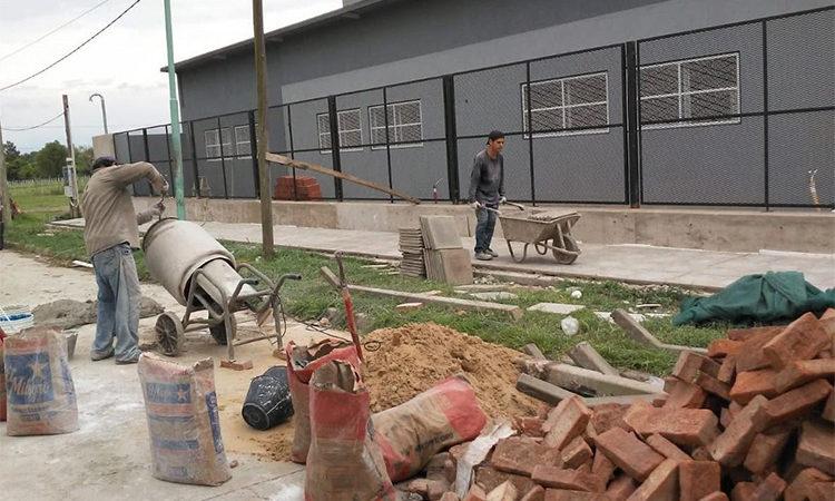 Previo al inicio de clases, el Municipio realizó trabajos de mantenimiento en escuelas y jardines de Tigre